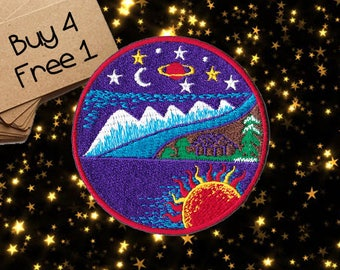 Fantasy Patches Space Patches Iron On Patch Sew On Patch Patches For Jackets