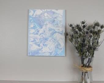 "Acrylic Fluid Painting ""Andromeda"" 11""x14"""
