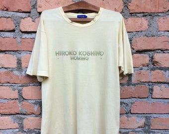 Vintage Hiroko Koshino Big Logo tshirt/Hiroko Koshino Big Logo sweetshirt/Hiroko Koshino Big Logo Jacket