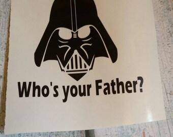 Darth Vader 3x4