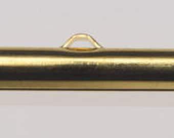 Slider Ends 30MM Gold 10pc