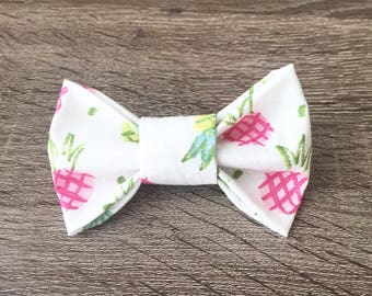 Pineapple Summer Dog Bow Tie - Collar Accessories