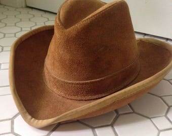 Leather Fedora/Stetson