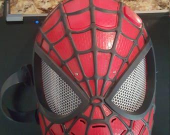 The amazing spiderman mask