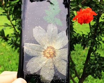 Handmade Real Dried Pressed Flowers Case for iPhone 6/6s Plus, 7/7 Plus