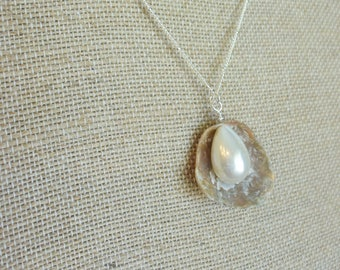 Seashell Necklace from the shores of the Mediterranean Sea