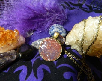 Necklace - Protection - Hoodoo ,Witchcraft, Brick Dust