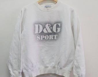 SALE!! Vintage Dolce and Gabbana Sport D&G Sweatshirt