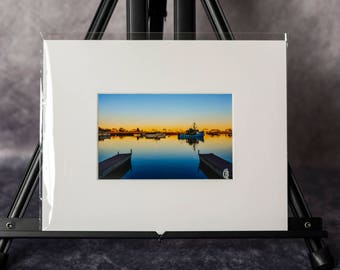 Matted Print: The Magic Hour