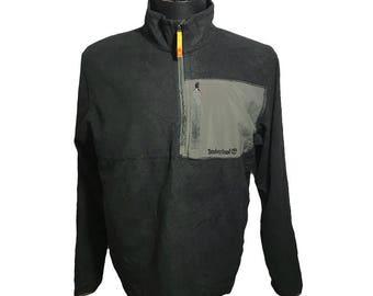 Timberland Weathergear Mens 1/4 Zip Pullover Fleece Jacket