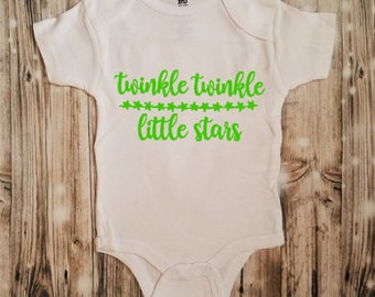 Twinkle Twinkle Little Star Baby Bodysuit - Star Baby Shower Gift - Baby Shower Gift - New Baby Gift - Newborn Clothing - Star Clothing