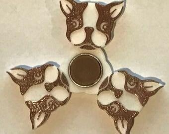 Boston Terrier Fidget Spinner