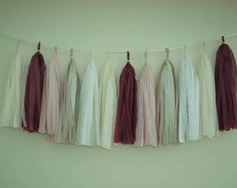 Tassel Garland - Choose Your Colours