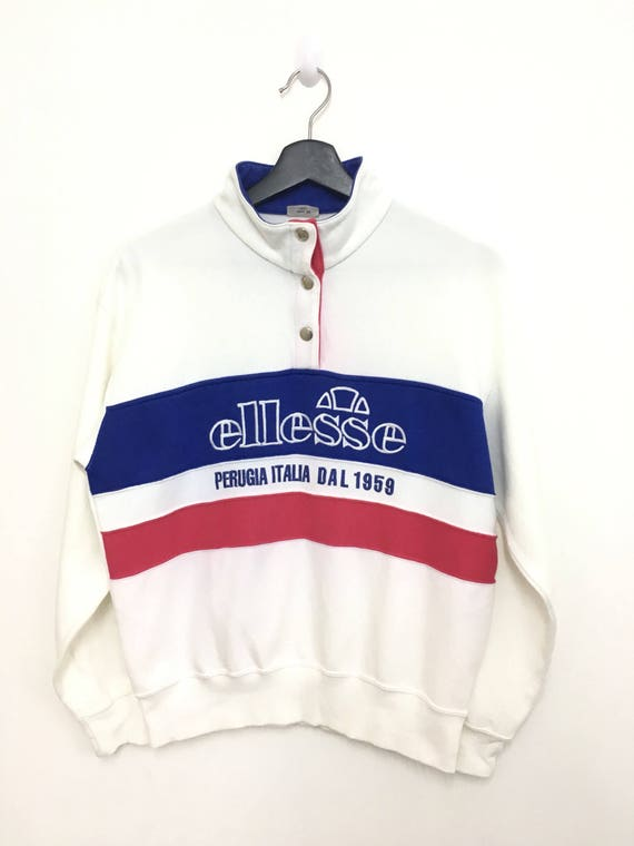 RARE !! Vintage Ellesse Sweatshirt P82rKUy