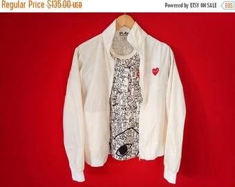 10% sale vintage lot comme des garcons windbreakers and t shirt