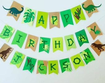 Large Dinosaur birthday banner,Dinosaur party,Dino party.Dinosaurs. Dinosaurs birthday decor,Dinosaurs birthday party, Dinomite party banner