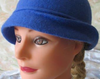 Hat felt. Gift for women. Clothing.