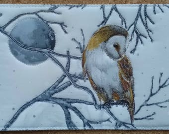 Postcard - Barn Owl