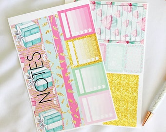Birthday Girl Notes Page for the 2017 and 2018 Erin Condren