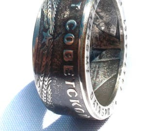 USSR Coin Ring - Soviet Union Souvenir - 1 Ruble - Rings from Coins - 50 year Revolution - Russia - Russian history 1 рубль кольца из монет