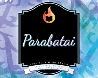 Parabatai - Hand-Poured Soy Wax Candle Inspired By The Mortal Instruments Series