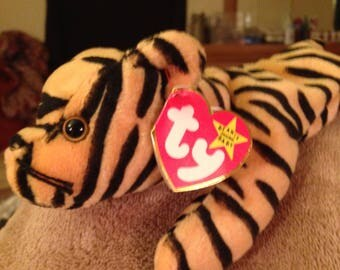 Ty beanie Baby Stripes the Tiger