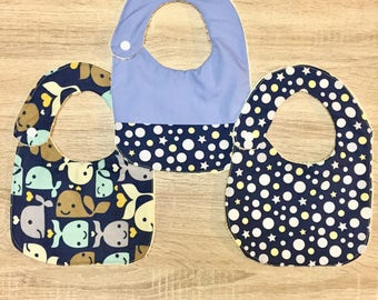 Baby Boy Bib Set