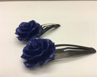 Heat Changing Rose Barrette