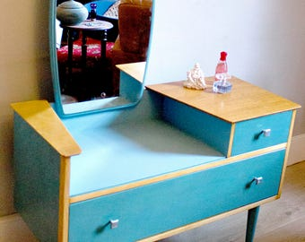 1950's Dressing Table with Mirror
