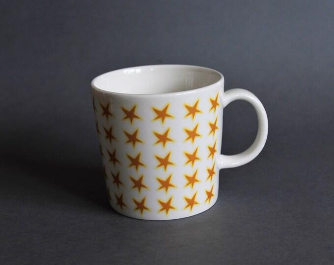 Featured listing image: Arabia Finland Mug Stars Motive