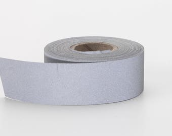 "Reflective Tape, 1"" Wide, 10 yds, Silver"