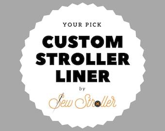 Custom Stroller Liner - Baby Jogger, UPPAbaby, Bugaboo + more!