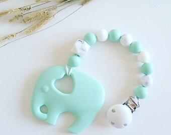 Elephant Silicone Teether