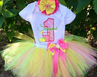 Custom Tutu sets. Birthday Tutu set