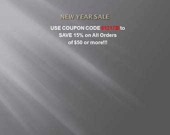 Use Coupon Code 61217B to Save!!!!