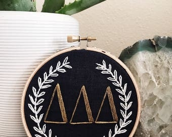 greek letters // MADE TO ORDER