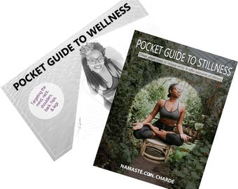 Combo- Pocket Guide To Wellness & Stillness