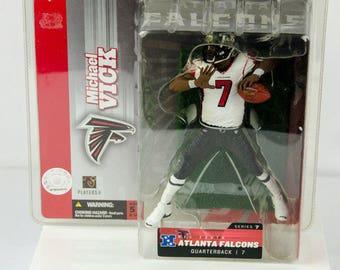 McFarlane's Sportspicks Series 7 Michael Vick Action Figure Atlanta Falcons