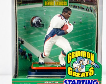 Starting Lineup Gridiron Greats Terrell Davis Denver Broncos Action Figure