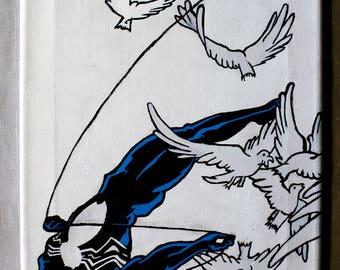 Inverted Spiderman, Black (symbiote) Suit