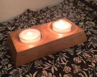 Small Cherry Tealight Candle Holder
