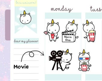 Petitcorn-Dearmyplanner-Movie Petitcorn (dm17-015)