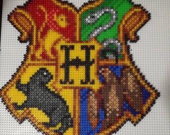 Hogwarts Crest hamabead