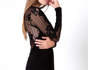 Back Lace Long Sleeve Jersey