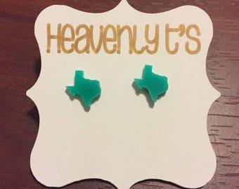 Mint Texas Earrings