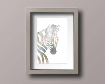 A3 Zebra Stencil