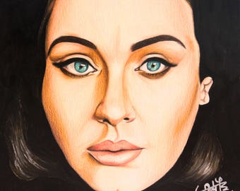 Adele original drawing
