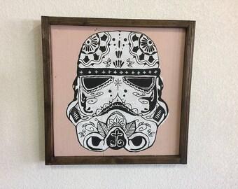 Sugar Skull Style Storm Trooper