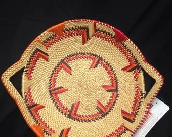African Market Baskets- Serving Tray