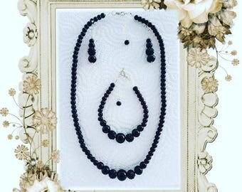 Jewelry sets necklace earrings bracelet